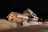Snow House (stra_bunic) Tags: st moritz swiss night house street light snow winter mountain warm switzerland
