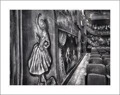 Amargosa Opera House, Amargosa, CA (Vincent Galassi) Tags: amargosa opera house marta becket architecture black whitee ca death valley junction