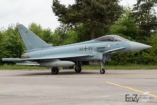 30+89 German Air Force (Luftwaffe) Eurofighter Typhoon