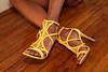 Nude feet in sexy high heels (Ysée de France) Tags: heels feet toes nails polish highheels sexy