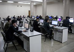 North Korean students using computers in Grand people's study house, Pyongan Province, Pyongyang, North Korea (Eric Lafforgue) Tags: asia businessfinanceandindustry chairs coding communism computer computerlanguage concentration desks dictatorship dprk education flatscreens fulllength groupofpeople hacker horizontal humanbeing indoors internet intranet knowledge labour learning nkorea4507 northkorea occupation programmer pyongyang sitting sittingposition study technology typing usinglaptop work pyonganprovince 北朝鮮 북한 朝鮮民主主義人民共和国 조선 coreadelnorte coréedunord coréiadonorte coreiadonorte 조선민주주의인민공화국 เกาหลีเหนือ קוריאההצפונית koreapółnocna koreautara kuzeykore nordkorea північнакорея севернакореја севернакорея severníkorea βόρειακορέα