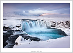 Awestruck (mistymornings99) Tags: iceland landscape waterfall river nature water person godafoss photostyles 8exposures movement cloud