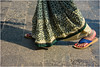 Namasté ...passage to India ... passaggio in India  ... (miriam ulivi - OFF /ON) Tags: miriamulivi nikond7200 indiadlsud mumbai bombay maharashtra donna woman piedi cavigliere sari feet anklet streetphotography