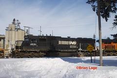 NS 2551 (eslade4) Tags: iarr iowariverrailroad ackley bnsf7401 es44dc ns2551 sd70 bnsf719 c449w dash9 exiac exmstl excnw cn canadiannational