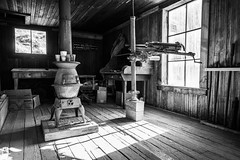 Cerro Gordo Ghost Town, Inyo County, California (paccode) Tags: solemn california d850 abandoned barn monochrome scary farm serious creepy quiet desert forgotten blackwhite unitedstates us