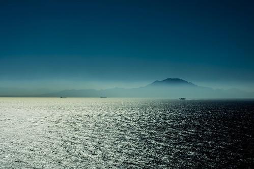 Africa from Gibraltar