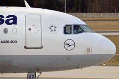 Lufthansa D-AIUC Airbus A320-214 Sharklets cn/6006 @ EDDF / FRA 01-04-2017 (Nabil Molinari Photography) Tags: lufthansa daiuc airbus a320214 sharklets cn6006 eddf fra 01042017