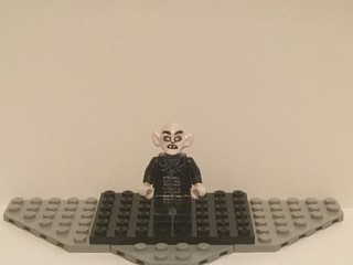 Lego Custom: Nosferatu The Vampyre/Count Orlok