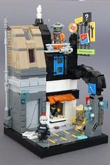 ネオ東京2039 ([Banana Ketchup]) Tags: lego neo tokyo cyberpunk moc whatwillyoubuild