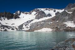 Lac des Quirlies (2565 m) (Quentin Douchet) Tags: alpes alpesfrançaises alps auvergnerhônealpes eau france frenchalps isère lacdesquirlies2566m nature glacier lac lacdesquirlies lake landscape montagne mountain paysage water