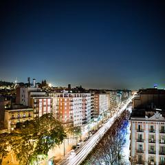 Barcelona (Zeeyolq Photography) Tags: barcelone barcelona city espagne night road spain street
