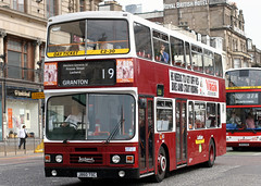 860 J860 TSC (Cumberland Patriot) Tags: lothian buses edinburgh midlothian scotland leyland olympian on2r56c13z4 on20207 alexander rh h5130d 860 j860tsc step entrance double deck decker bus derv diesel engine road vehicle public transport 19 granton