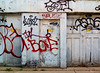 Sequence (geowelch) Tags: toronto downtown urbanfragments alley laneway graffiti garage fujifilmx10