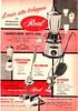 50's ad - Real appliances - Produtos Real (Gugue) Tags: liquidificadorantigo propagandaantiga vintagestandmixer vintageads 50sads anos50