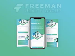 Freeman Health Group Responsive Landing Page