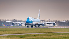 KLM - PH-BFT - Boeing 747 - 06-01-2018 (1) (Oscar Lammers Photography) Tags: klm phbft boeing 747 06012018 ams eham amsterdam schiphol airport runway airplane take off polderbaan aviation airliner aircraft