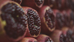 Fruits of Hades (Vincent Monsonego) Tags: sony α αlpha alpha ilce7rm2 a7rii a7r2 sonyalphadslr zeiss sonnar t fe 55mm f18 za fe55mmf18 fe55mm sel55f18z prime lens pomegranate nature macro fruit hell hades persephone red