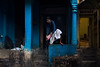 Varanasi. Uttar Pradesh. India. (Tito Dalmau) Tags: street portrait man water varanasi uttarpradesh india