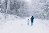 out & about (faded blue) Tags: canon canon6d oof blur winter kids family vsco vscofilm bokeh blurry