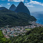 2017 - Regent Cruise - St. Lucia - The Pitons at Soufrière thumbnail