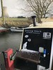 Sailing La Vagabonde (Sam Tait) Tags: soar river marina throttle snow hail gl 940 estate volvo theboatman levellers lavagabonde sailing fuzzyduck narrowboat