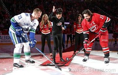 Puck Drop (Melody Moezzi) Tags: raleigh nc nhl youcanplayteam nhlcanes hockeyisforeveryone youcanplay lgbtq