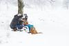 Just attention from the dog for me😊 (Thea Teijgeler) Tags: sauerland sneeuwpret sneeuw landschap boom dog hond