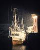 Shermans life (felixindenvisuals) Tags: lofoten norway norge lofotefisk fisherman boat ship snow winter night nikon d850 felixinden ballstad pescador barco puerto harbor hafen life moody dark tele lens