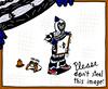 Rob Robby Robert! - Skills: Stealing, burglary, disguising... (AlexArrow) Tags: teameffort team effort comics comicstrip comic strip webcomic teamwork cartoons rob robby robert robber thief crook criminal unsafe careless stealing art theft disguise groucho marx glasses concealment hiding plain sight prison outfit toque