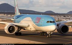 TUI Boeing 787-8 PH-TFK @ Arrecife (Lanzarote) GCRR/ACE (Joshua_Risker) Tags: lanzarote arrecife airport aeropuerto gcrr ace plane planes planespotting aviation avgeek tui arke fly boeing 787 788 b788 7878 dreamliner phtfk