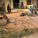 Trios - women & wheelbarrows