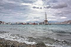 Greece 🇬🇷  Mykonos (dimitris.giakoumis) Tags: seascape mykonos cyclades cycladesislands aegeansea port greekislands landscape autumncolors dimitrisgiakoumis