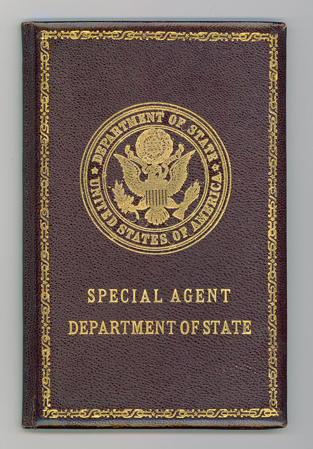 Department of State Special Agent credentials