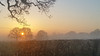20161228_153953 [ps] - Scorched Earth (Anyhoo) Tags: anyhoo photobyanyhoo a50 cheshire m6borked lowsun winter mist fog fields mistrising cold freezing countryside flat plain sunset england uk