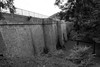 Barrage du bassin du Lampy, Occitanie, France (Franck Grenier) Tags: vacances été dam barrage bassin réserve lac lake forest bricks nb blackwhite noirblanc wall mur