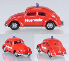 PRA-27-VW-Feuerwehr (adrianz toyz) Tags: plastic toy model 187 scale praliné germany feuerwehr fire service vw volkswagen beetle käfer car brezelkäfer adrianztoyz