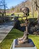 Heroes (jmhutnik) Tags: veteran sculpture boots rifle cemetery helmet bronze hero headstones depthoffield donelckinnardstatememorialveteranscemetery westvirginia