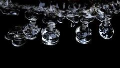 Natural ice (Henri Koskinen) Tags: ice snow crystal crystals pillars kide kiteet jää jääkiteet jääpuikot glimsinjoki espoo finland 13012018