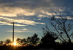 2018 YIP Day 14: Sunset (knoopie) Tags: 2018 january iphone picturemail sky sunset bellevue factoria 2018yip project365 365project 2018365 yiipday14 day14