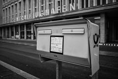Flughafen Tempelhof (Berlin-Knipser) Tags: berlin blackandwhite bw blackwhite artinbw schwarzweis schwarzweiss sw sonya7ii canonfd deutschland germany tempelhof thf flughafentempelhof architektur