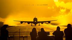 vámonos!!! (andresortiz815) Tags: mroc elcoco alajuela costarica a340 airbus sunset atardecer iberia