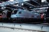 182 600 ( 1116 901 )  Basel SBB  19.05.01 (w. + h. brutzer) Tags: eisenbahn eisenbahnen train trains deutschland germany elok eloks railway lokomotive locomotive zug dispolok es64u2 182 mrce webru analog nikon taurus