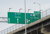 Which Way To Go? (PDX Bailey) Tags: sign sky green seattle dalles exit 300 bridge light post look lookup