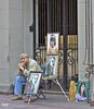 El pintor... (svet.llum) Tags: calle persona pintor ciudad moscú rusia arte artista arbat