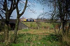 50039, Soho Loop, Birmingham, April 1989 (David Rostance) Tags: 50039 class50 englishelectric birmingham soholoop