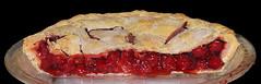 Half_Gone-b (Guyser1) Tags: food pie cherrypie westyellowstone canonpowershots95 pointandshoot