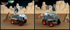 Commander Hubble (TFDesigns!) Tags: lego space rover febrovery disney pixar satire movie moon planet