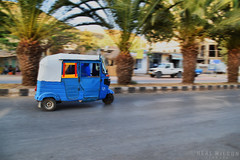 dream machine (Neal J.Wilson) Tags: aksum ethiopia ethiopian africa african travel nikon purple me tuk transport taxi speed streetlife streetscenes roads