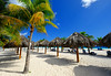 Beach view in Barbados (` Toshio ') Tags: toshio barbados caribbean bridgetwon palmtrees sand beach tree beachchairs fujixt2 xt2 clouds sky travel shadows people caribbeansea