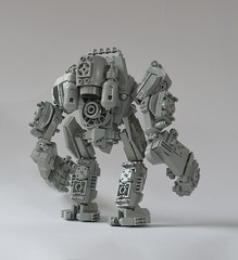 Classic Space Heavy Exo-suit Mech (Guido Martin-Brandis) Tags: lego mech mecha robot classic space power armour exosuit exo suit